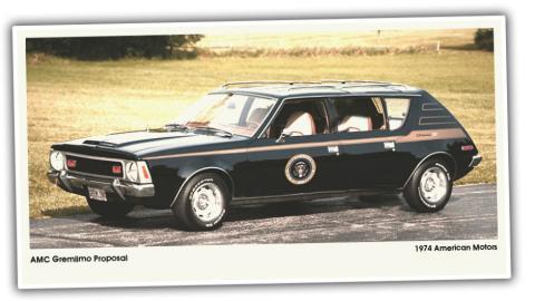 2. AMC Gremlimo (1974) para el presidente Gerald Ford