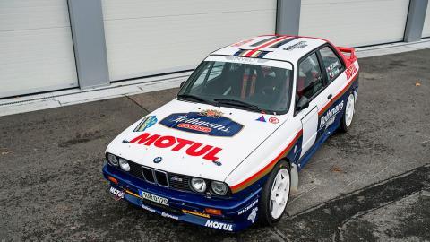 BMW M3 de rallys (I)