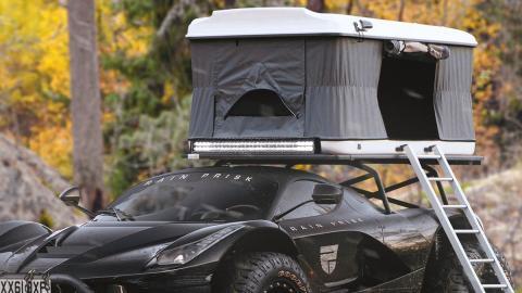 El Ferrari LaFerrari con dormitorio incorporado