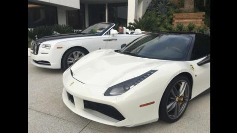 Ferrari y Rolls-Royce de la casa más cara de América
