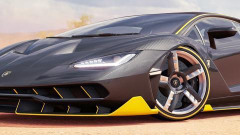 Filtrado un nuevo Lamborghini en Forza Horizon 3