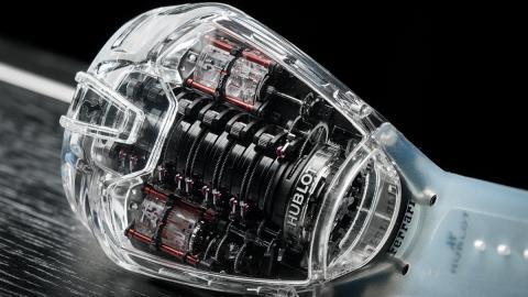 El Hublot MP-05 LaFerrari Sapphire, la obra maestra de la firma relojera suiza