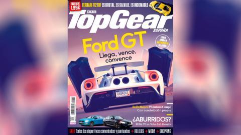 Número 5 Top Gear España, portada