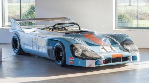 Porsche 917 Spyder, a subasta (I)