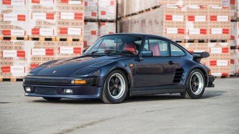 Porsche 930 Turbo 'Flat Nose' o 'Slant nose' (1986)
