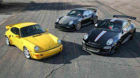 Los Porsche a subasta