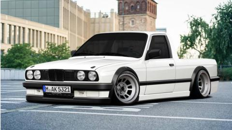 Render BMW E30 pick-up