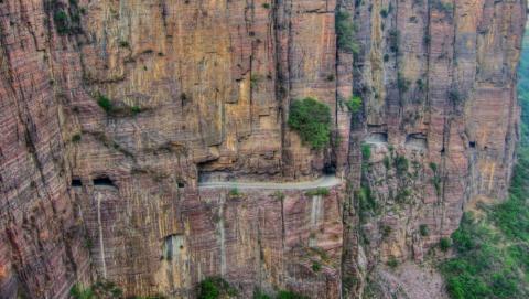 4- Túnel Guoliang, en China