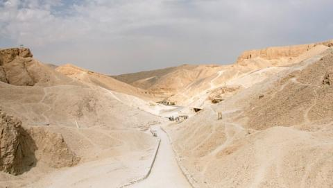 5- Carretera de Luxor-al-Hurghada, en Egipto