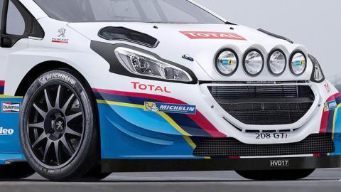 Así podría ser el Peugeot 208 WRC 2017 de tus sueños