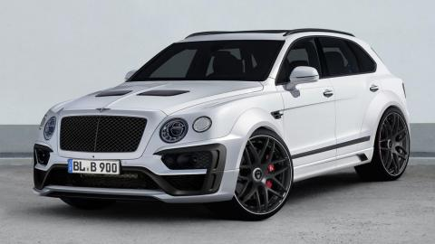 Bentley Bentayga Lumma Design
