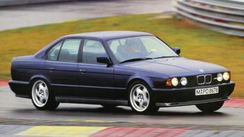 BMW M5 E34 deportivo familiar lujo berlina