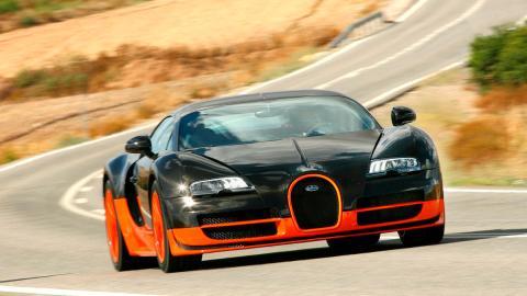 Bugatti Veyron SuperSport frontal 0 a 160