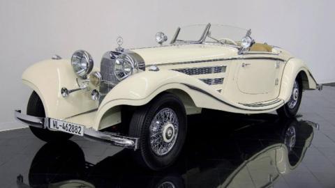 Coches por 2,7 millones: Mercedes-Benz 500K Special (I)