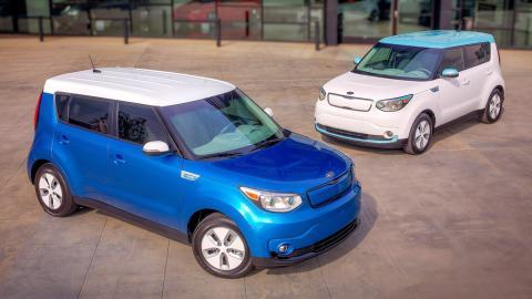 Coches nuevos entre 15.000 y 25.000 euros - Kia Soul EV