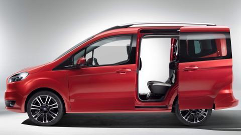 Coches nuevos entre 9.000 y 12.000 euros - Ford Tourneo Courier