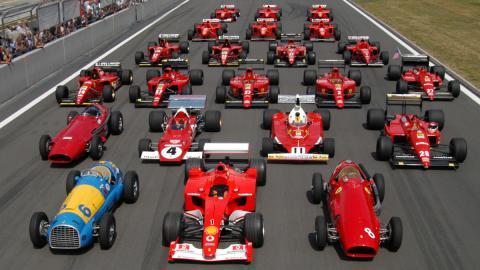 La evolución de los coches de F1