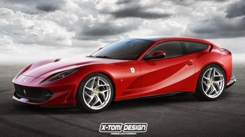 Ferrari 812 Superfast Shooting Brake