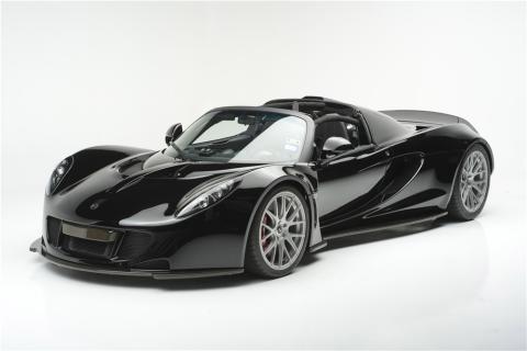 Hennessey Venom GT Spyder Steven Tyler