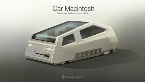 iCar Macintosh 128K