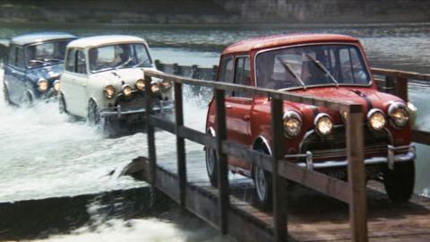 Las mejores películas de coches - The Italian Job