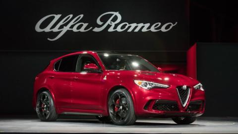 SUV 2017: Alfa Romeo Stelvio