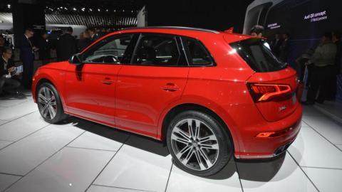 SUV 2017: Audi SQ5 (I)