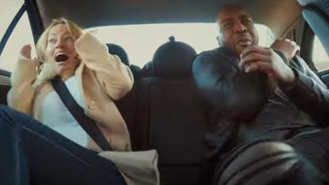 Un taxista temerario llamado David Coulthard