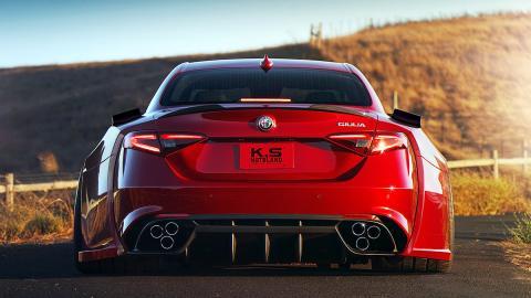 El Alfa Romeo Giulia Quadrifoglio Verde más bestia que existe