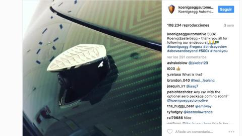 Camara aparcamiento Koenigsegg