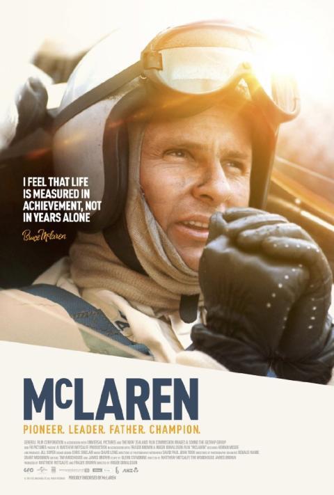 Cartel de la película McLaren