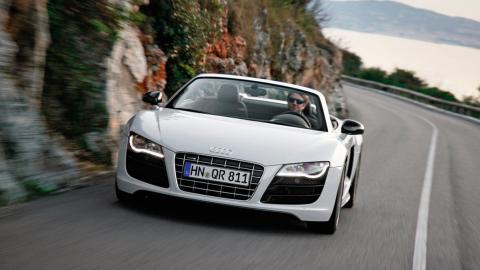Coches más lentos que el Audi RS5: Audi R8 V10 Spyder (II)