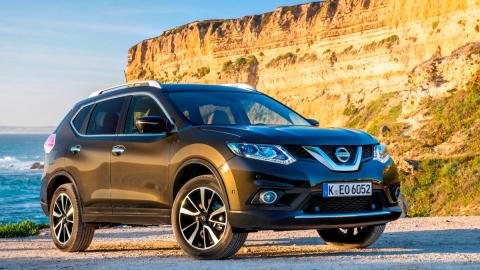 Coches que aparcan solos, Nissan X-Trail (I)
