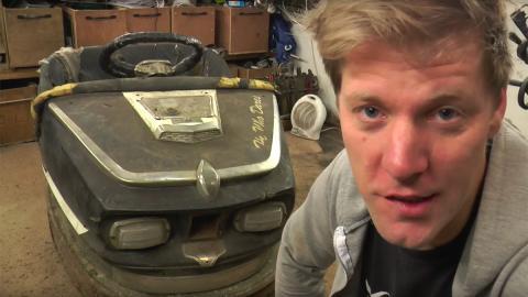 Colin Furze coche de choque Stig