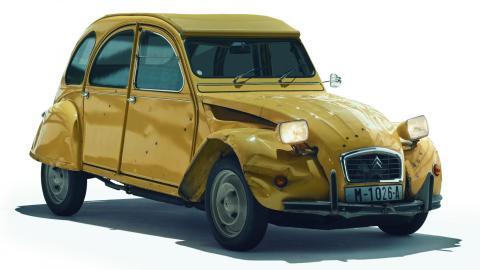 Comprar coche James Bond: Citroën 2CV