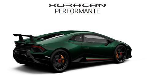 Configurador Lamborghini Huracán Performante