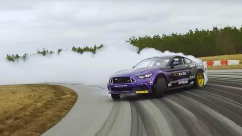 Ford Mustang RTR drift Chelsea DeNofa
