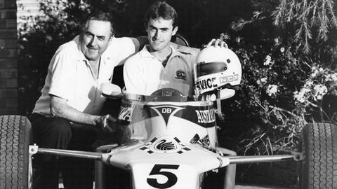 Jack and David Brabham