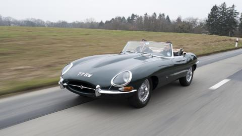 Jaguar E-Type de 1961