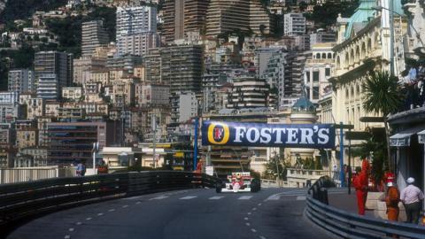 Mónaco y Senna, una pareja de leyenda
