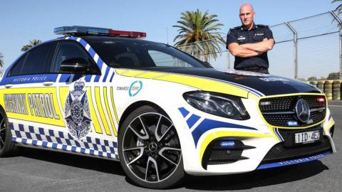 La Policía de Australia ahora patrulla con un Mercedes-AMG E 43