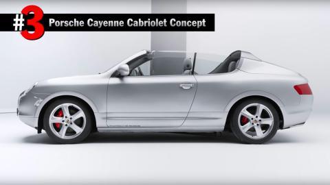 Porsche Cayenne descapotable concept prototipo