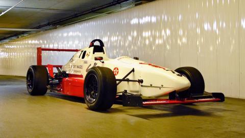 El primer monoplaza de Kimi Raikkonen