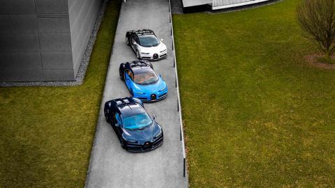 Los primeros Bugatti Chiron dejan la fábrica (II)