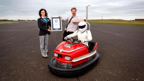 Record velocidad Colin Furze Stig coche de choque