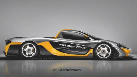 Renders Pick-up: McLaren P1