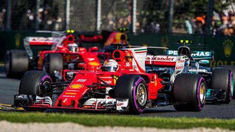 VETTEL GP AUSTRALIA F1 2017