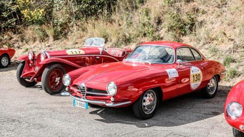 Alfa Romeo Giulia Sprint Speciale SS clásico Targa Florio