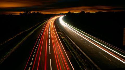 Autopista noche