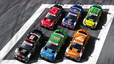Los coches del DTM 2017